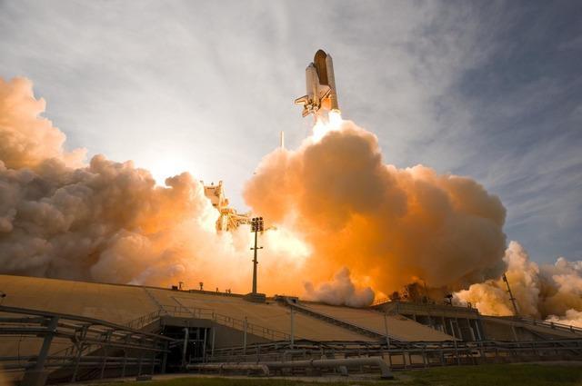 odstartování rakety