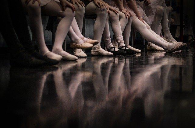 nohy baletek