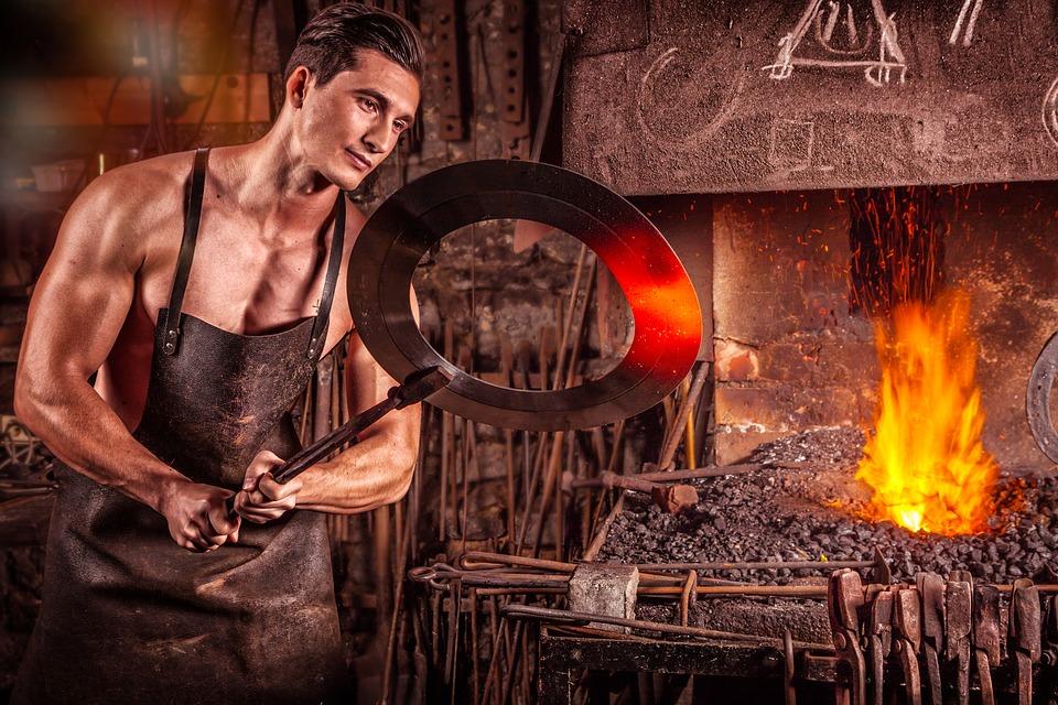 kovářská práce